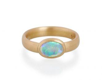 Natural Opal Ring