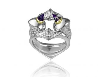 Lilith Interlocking Ring