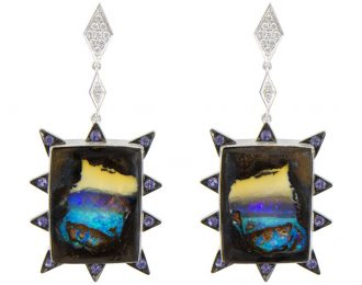 Landscape Burst Earrings