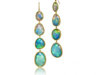 Australian Opal Earrings