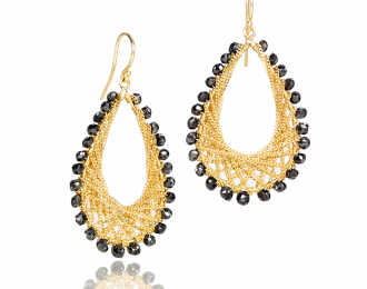 Golden Weave Earrings