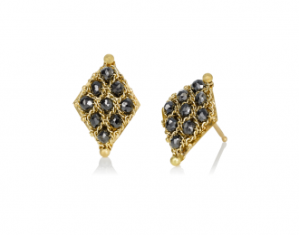 Lozange Diamond Studs