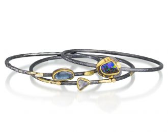 Shards Gemstone Bangle